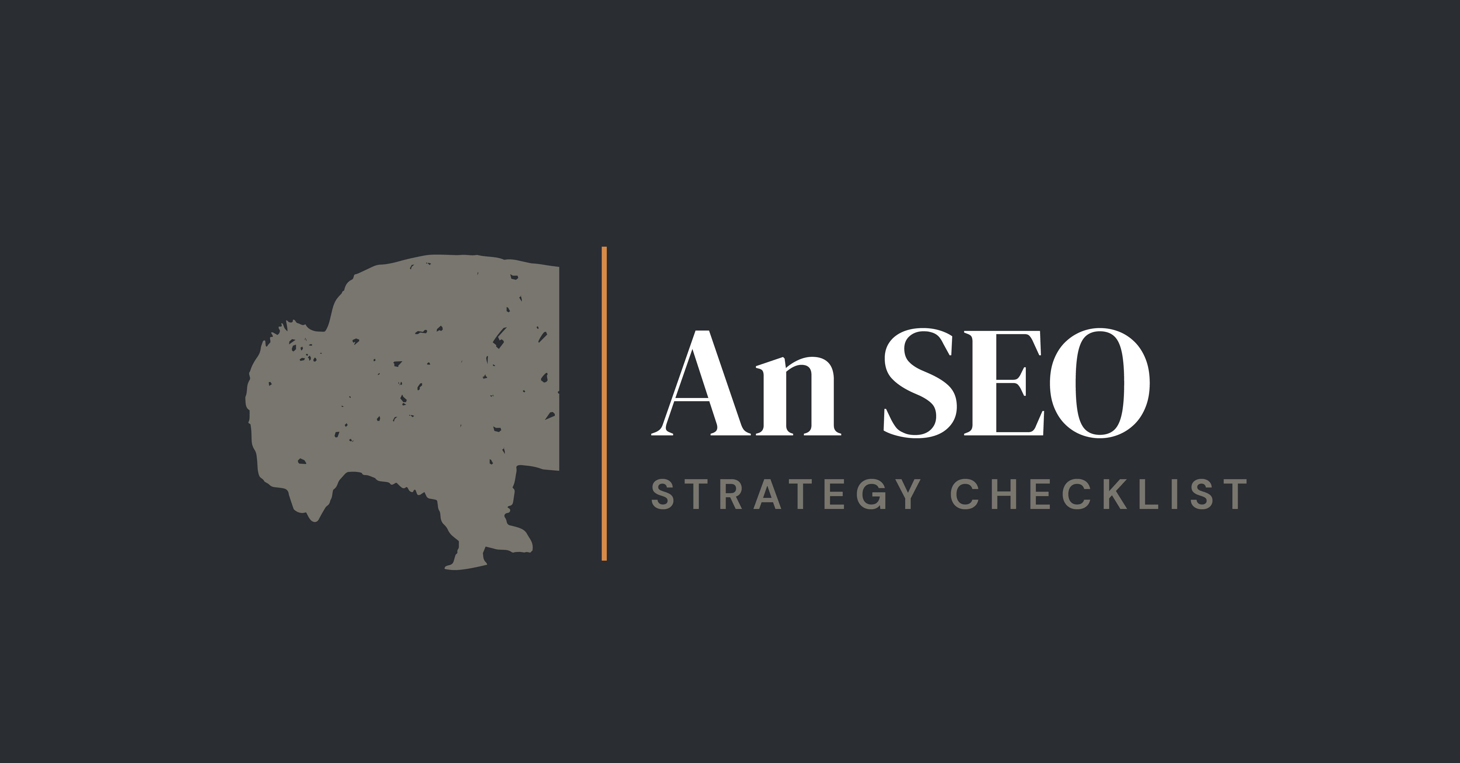 SEO Strategy Checklist Preview